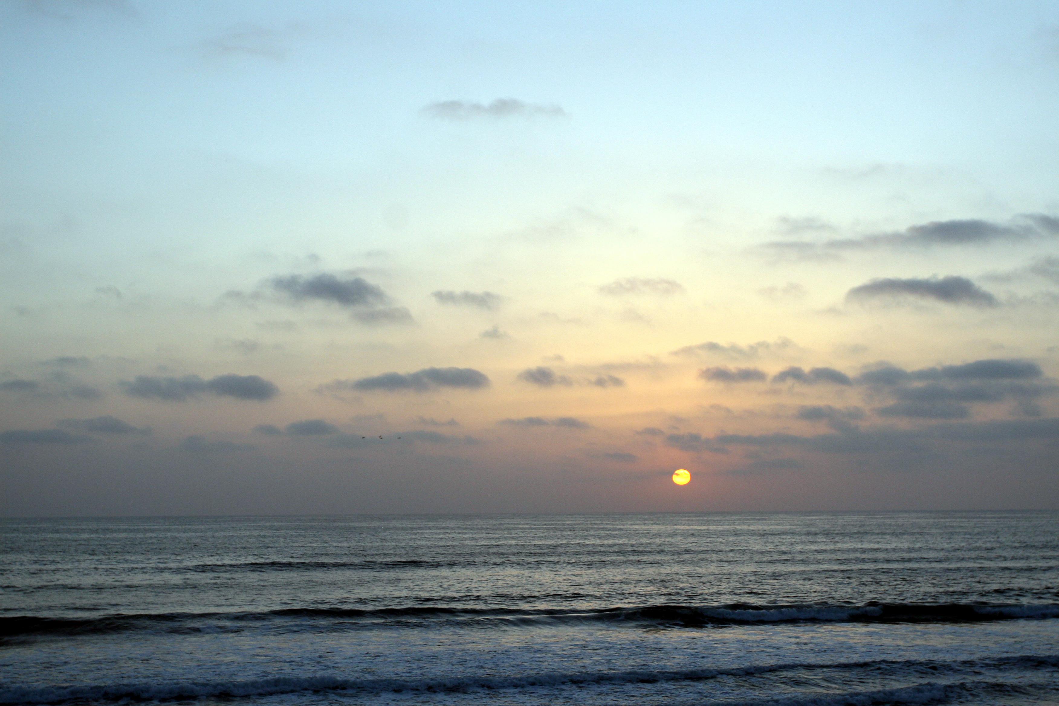 Sunset del mar